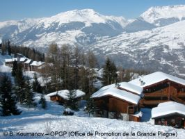 Chalet Les Violettes with private sauna