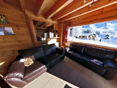 Chalet Le Soleil Levant with private swimming pool-2