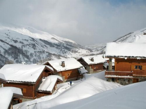 Chalet De Vallandry Bien Plus with sauna and whirlpool