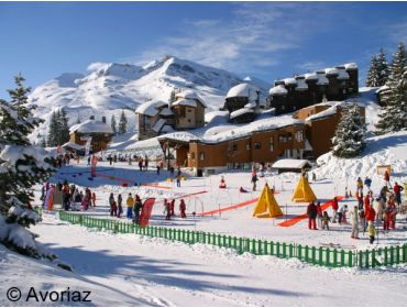 Ski village Most snow-certain winter sport village of Les Portes du Soleil-1