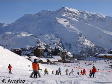 Ski village Most snow-certain winter sport village of Les Portes du Soleil-4