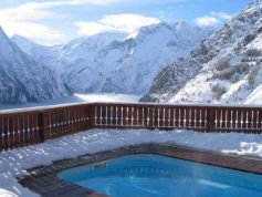 Chalet Le Ponton with private swimming pool-3