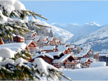 Ski village Winter-sport village, situated between the slopes and the ski lifts-1