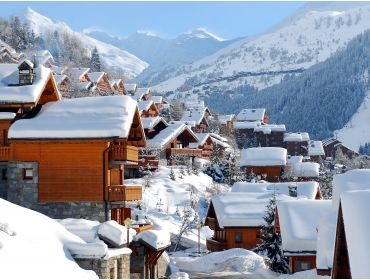 Ski village Winter-sport village, situated between the slopes and the ski lifts-13