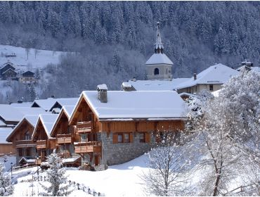 Ski village Winter-sport village, situated between the slopes and the ski lifts-5